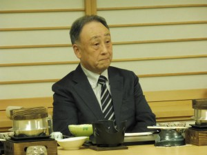 (一社)釜石医師会会長・小泉先生の卓話